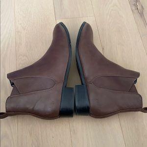 Matt & Nat Shoes - Matt & Nat Size 41 Ankle Boots Brown Vegan Leather